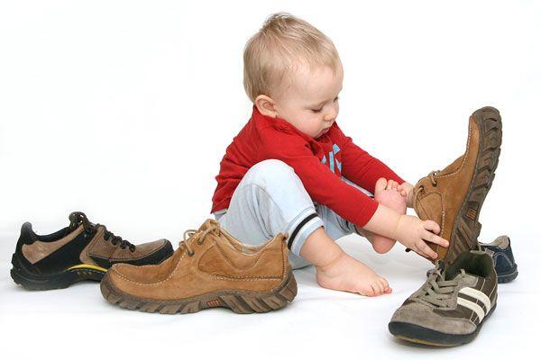 9 Правил вибору взуття для дитини